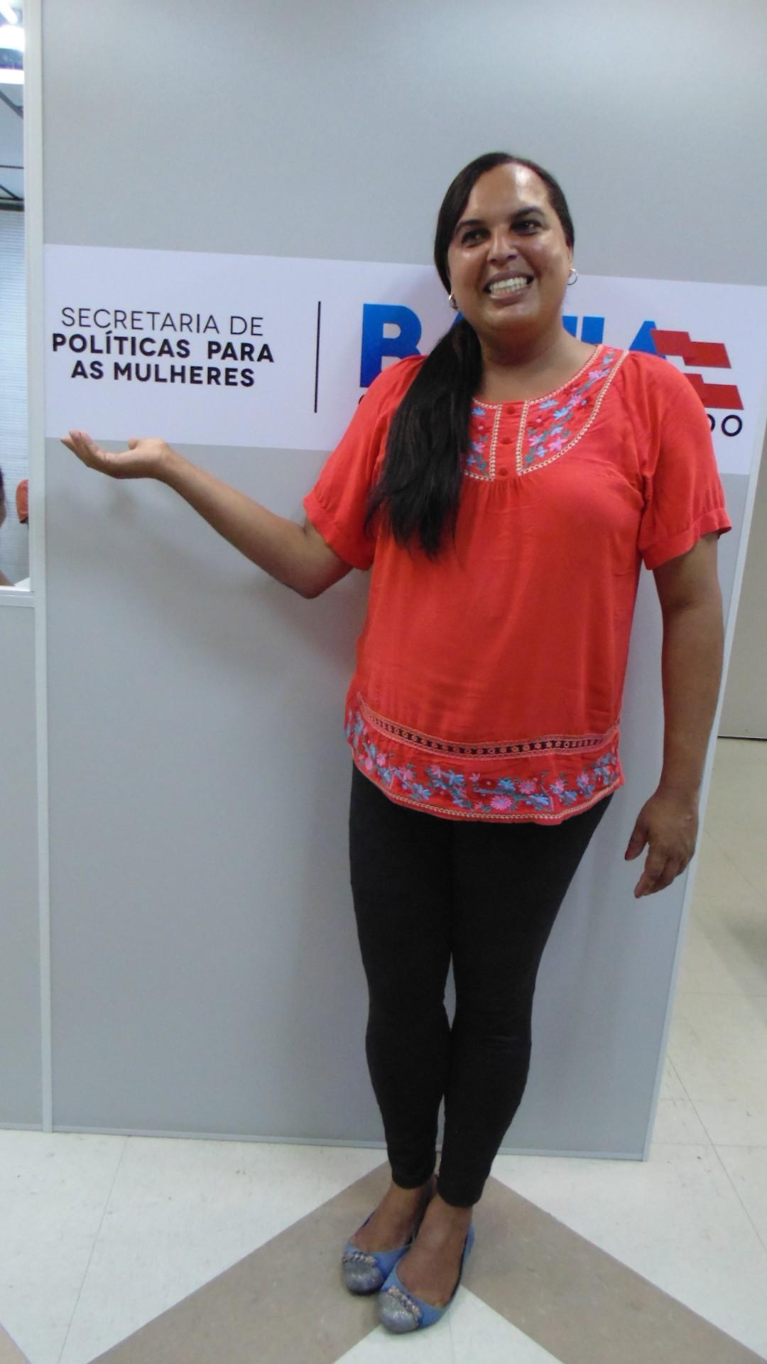 Milena Passos é a primeira mulher trans no Brasil a trabalhar em uma Secretaria de Políticas para Mulheres