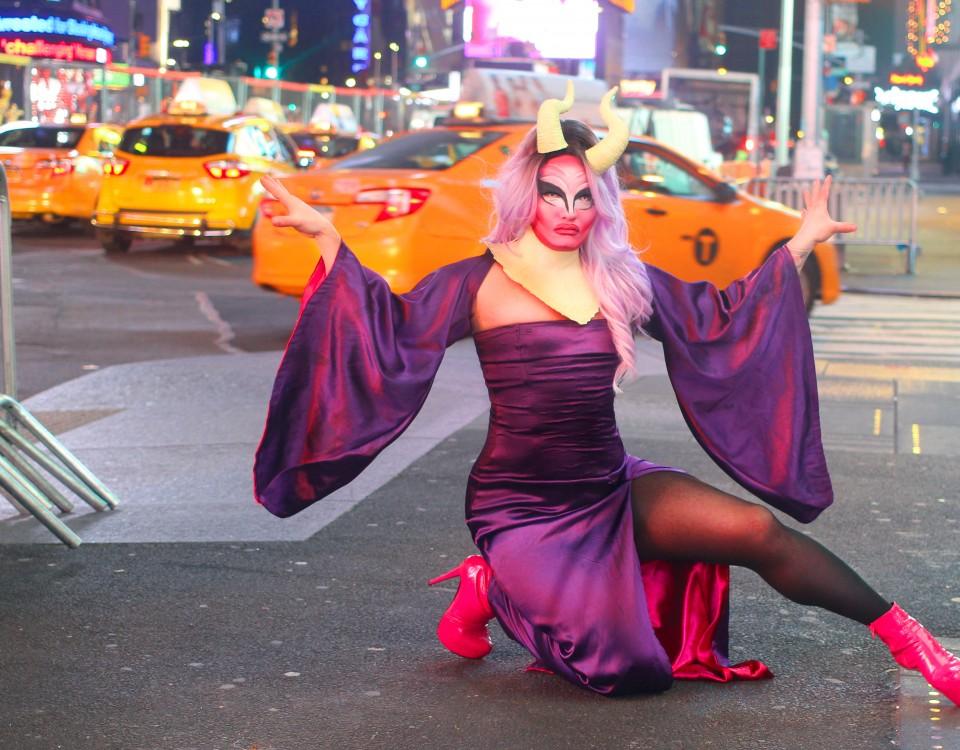 Nina Cordorna em Nova Iorque - foto: Divulgação