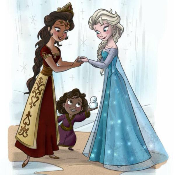 Frozen elsa homosexuality