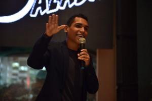 Leonardo Oliveira foi um dos palestrantes do evento  Foto:Thiago Mohallem