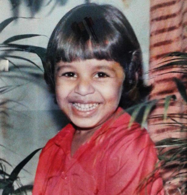 Eu quando era uma criança viada Foto: Acervo Pessoal