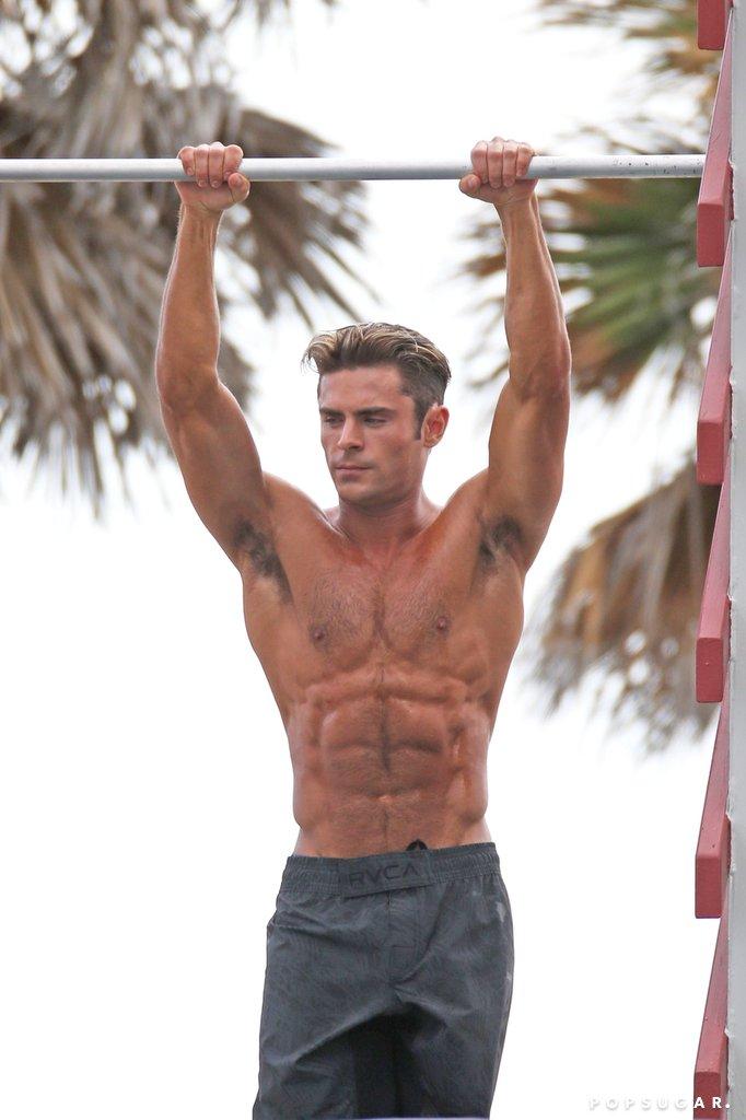 Zac-Efron-Shirtless-Baywatch-Movie-Set-Pictures