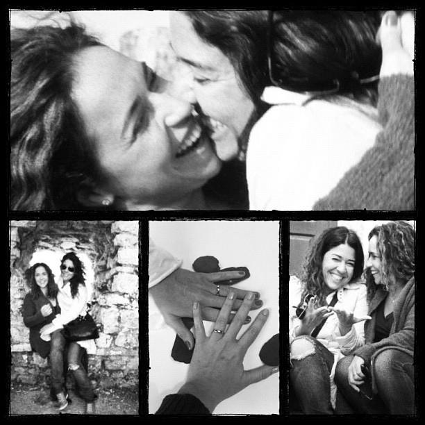 Em 2013, Daniela e Malu assumiram relacionamento