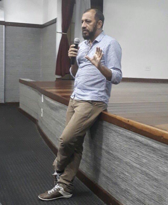 Psicólogo Gilmaro Nogueira (Foto: Reprodução/Twitter)