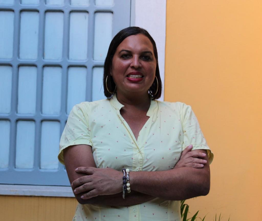 Milena é coordenadora do GGB