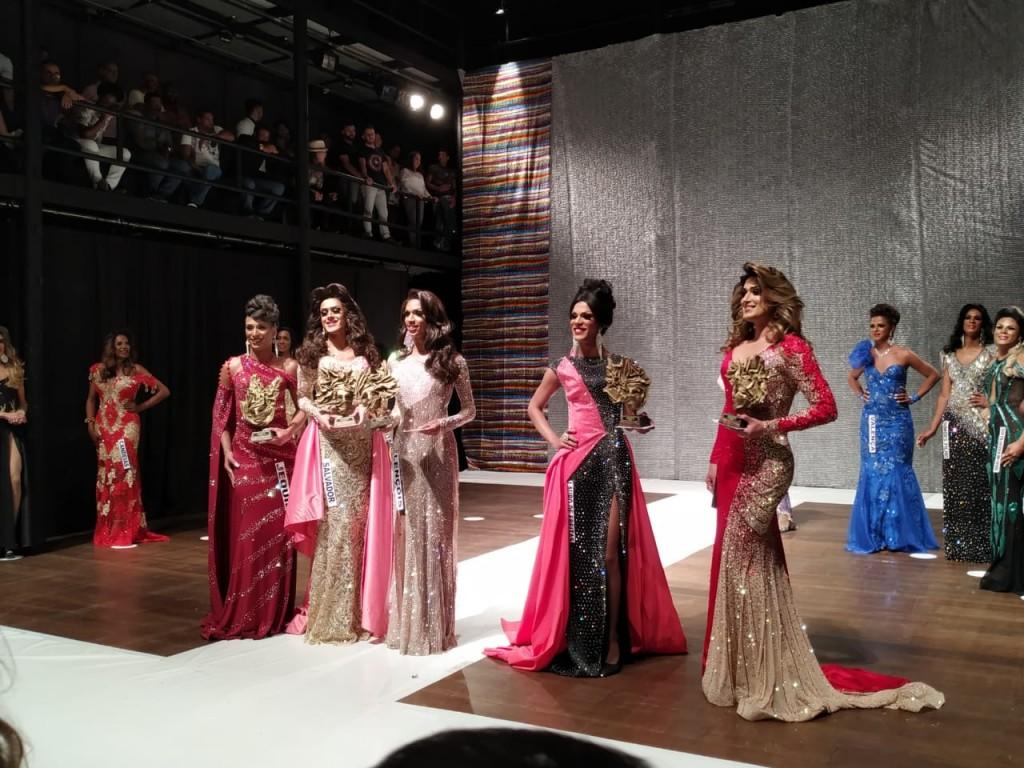 Cinco vestidos foram eleitos os mais bonitos da noite: Jequié, Salvador, Lençóis, Lauro de Freitas e Feira de Santana.